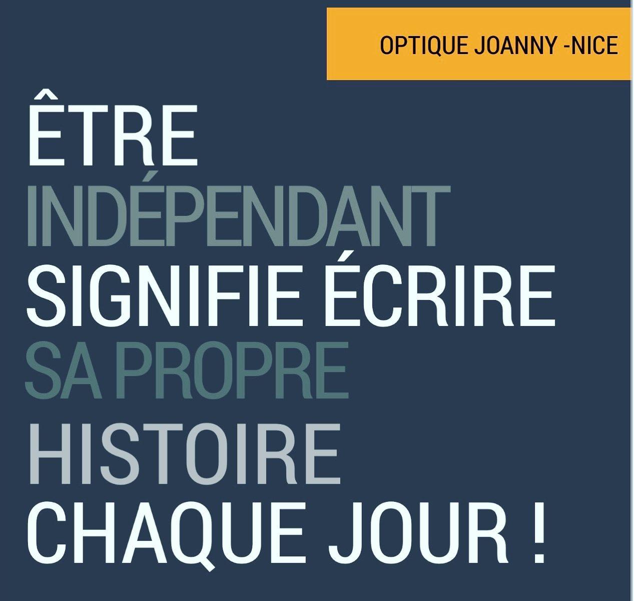 slogan des indépendants